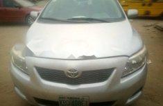 Nigeria Used Toyota Corolla 2009 Model Silver
