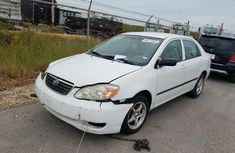 Foreign Used Toyota Corolla 2005 Model White
