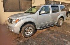 Nigeria Used Nissan Pathfinder 2005 Model Silver