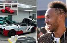 Most expensive premier league car: Pierre-Emerick Aubameyang's ₦711million Ferrari!