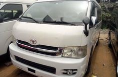 Foreign Used Toyota HiAce 2013 Model White