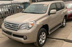 Foreign Used Lexus GX 2013 Model Gold