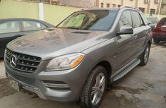 Nigeria Used Mercedes-Benz ML350 2012 Model Gray