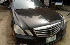 Nigeria Used Mercedes-Benz E550 2011 Model Black