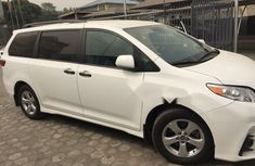 Foreign Used Toyota Sienna 2018 Model White