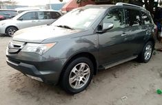 Foreign Used 2008 Acura MDX Grey