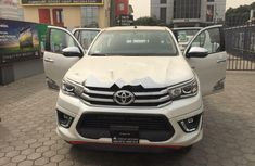 Foreign Used Toyota Hilux 2019 Model White