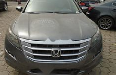 Nigeria Used Honda Accord CrossTour 2010 Model Gray