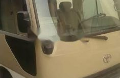 Foreign Used Toyota Coaster 2008 Model Silver