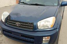 Foreign Used Toyota RAV4 2001 Model Blue