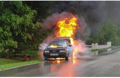 What causes cars to burn on the road while moving? Must read!