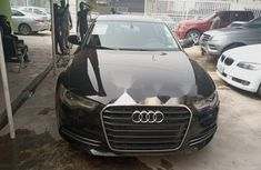 Foreign Used Audi A6 2012 Model Black