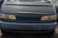 Foreign Used Toyota Previa 1991 Model Blue