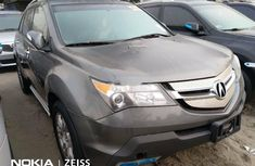 Foreign Used Acura MDX 2008 Model Gray