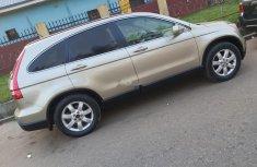 Nigeria Used Honda CR-V 2008 Model Gold
