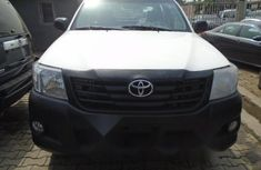 Foreign Used Toyota Hilux 2015 Model White