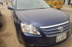Foreign Used Toyota Avalon 2006 Model Blue