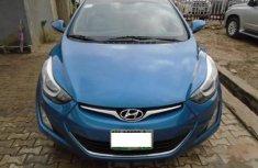 Nigeria Used Hyundai Elantra 2015 Model Blue
