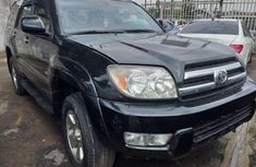 Nigeria Used Toyota 4-Runner 2005 Model Black