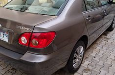 Direct Tokunbo 2008 Model Toyota Corolla Accident Free