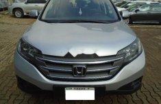 Nigeria Used Honda CR-V 2013 Model Silver