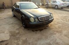 Nigeria Used Mercedes-Benz CLK 2002 Model Black
