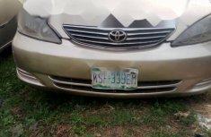 Nigeria Used Toyota Camry 2004 Model Beige