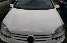 Foreign Used Volkswagen Golf 2009 Model White