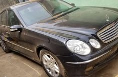 Nigeria Used Mercedes-Benz E320 2005 Model Black