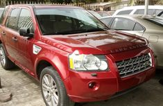 Foreign Used Land Rover 109 2009 Model Red