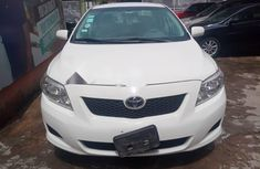 Nigeria Used Toyota Corolla 2010 Model White