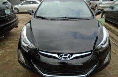 Nigeria Used Hyundai Elantra 2015 Model Black