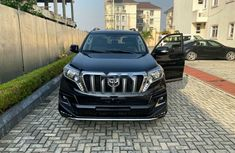 Nigeria Used Toyota Land Cruiser Prado 2010 Model Black