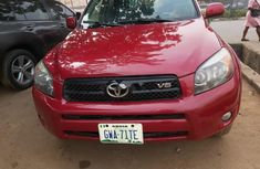 Nigeria Used Toyota RAV4 2007 Model Red