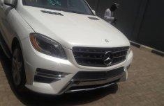 Tokunbo Mercedes-Benz ML350 2014 Model White