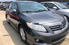 Foreign Used 2010 Grey Toyota Corolla for sale in Lagos