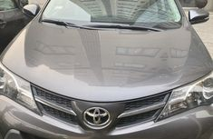 Nigeria Used Toyota RAV4 2013 Model Gray