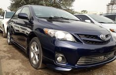 Foreign Used Toyota Corolla 2012 Model Blue