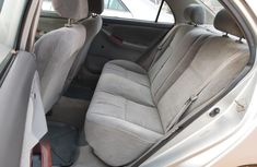 Neatly used 2004 Toyota Corolla Nigerian Used