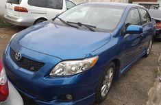 Foreign Used Toyota Corolla 2010 Model Blue