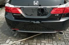 Foreign Used Honda Accord 2013 Model Black