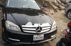 Foreign Used Mercedes-Benz C300 2009 Model Black
