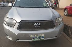 Nigeria Used Toyota Highlander 2008 Model Silver