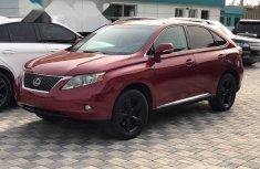 Nigeria Used Lexus RX 2010 Model Red