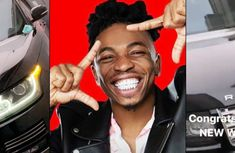 Nigerian popular singer Mayorkun buys a luxury Range Rover