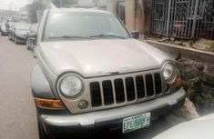 Nigerian Used Jeep Liberty 2004 Petrol Automatic Gold
