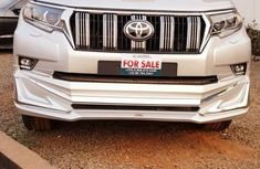 Foreign Used Toyota Land Cruiser Prado 2010 Model Silver