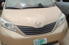 Nigeria Used Toyota Sienna 2012 Model Gold