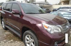 Red Extremely  Clean Lexus GX460 2012 Model