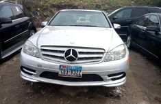Foreign Used Mercedes-Benz C300 2010 Model Silver